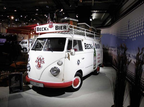 Never seen before pictures of historic VW campervans - Motorhome