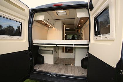 The Motorhome Awards 2015 High Top Van Conversion