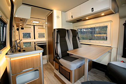 The Motorhome Awards 2015 High Top Van Conversion
