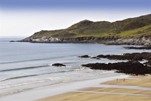 The fabulous beach at Woolacombe
