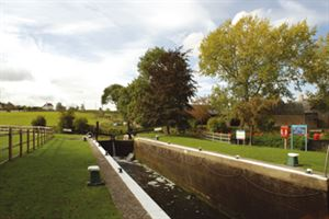 The Yarwell lock is great for walking along and watching boats