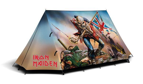 Iron Maiden tent