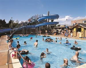 Lady's Mile Holiday Park in Devon