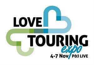 Love Touring Expo, Aberdeen, November 2021 logo