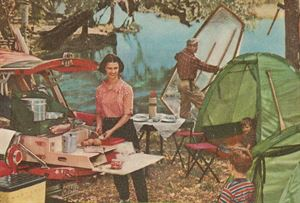 Camping 1956 style
