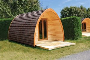 Camping pods offer an alternative to tents
