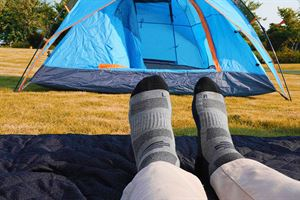 New camping accessories reviewed - including these MP Magic Socks