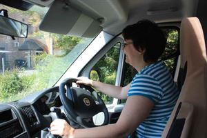 Motorhome driving skills are part of the new academy course