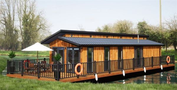 The Floating Lodge - image courtesy of the Floating Lodge Company