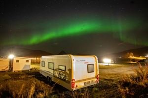 Northern Lights holiday: a caravanner's guide