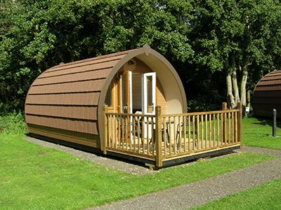Go Glamping In Luxury Touring Park Pods Camping News