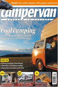 The December 2019 issue of Campervan magazine