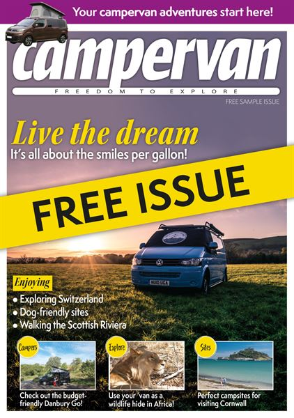 The free digital sample issue of Campervan is now available to download