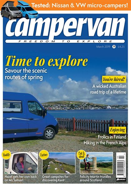 CAMPERVAN MARCH 2019