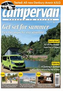 The May 2019 issue of Campervan magazine