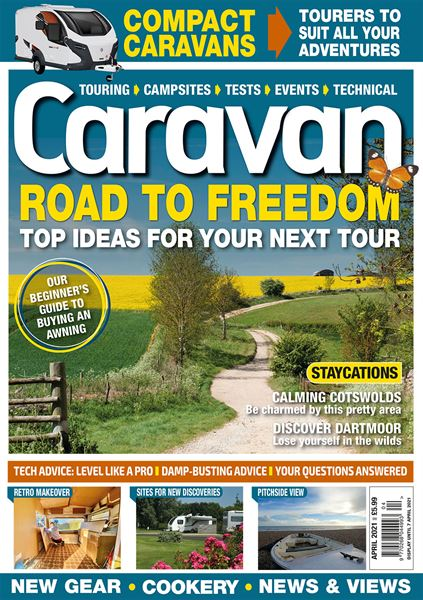 Download the April issue of Caravan today!