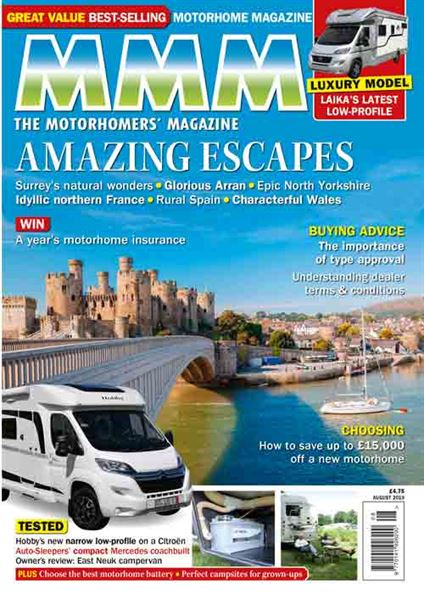 The August 2019 digital issue of MMM is out now