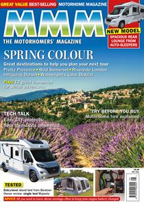 The May 2021 issue of MMM, The Motorhomers' Magazine — Spring Colour — is available to download today!