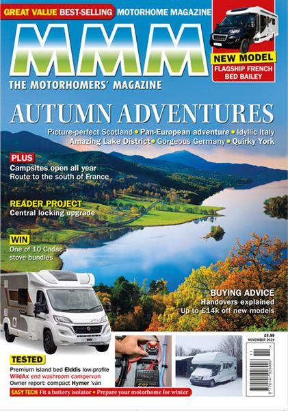 The November 2019 issue of MMM magazine