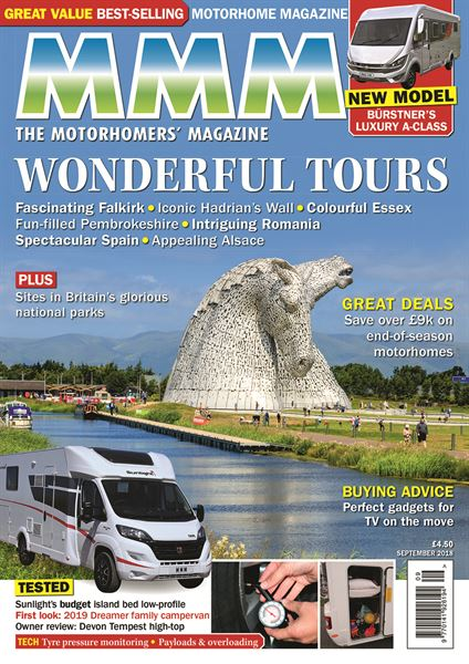d86a52764e Buy the September issue of MMM magazine today! - Motorhome News ...