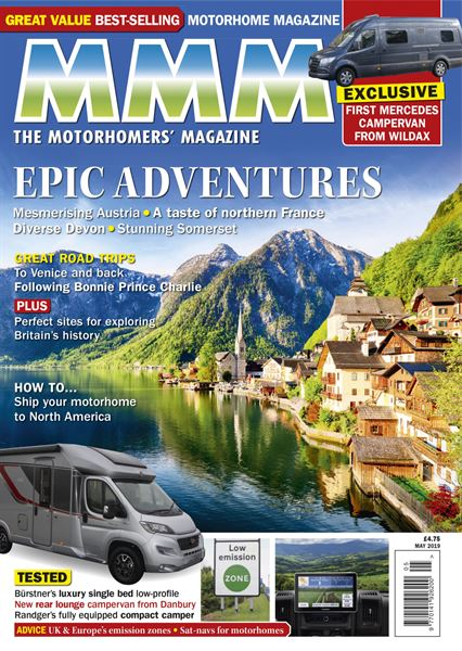 Download the May 2019 digital issue of MMM now - Motorhome News