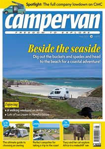 Read the May 2021 issue of Campervan magazine today