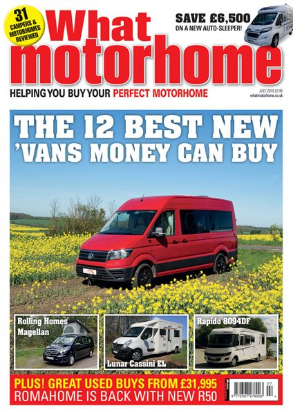 WHAT MOTORHOME JULY 2018