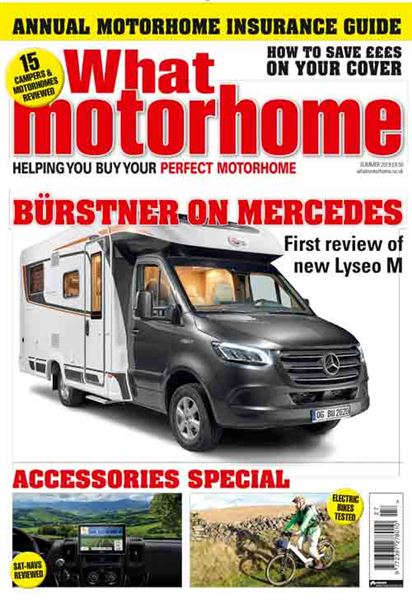 The Summer 2019 issue of What Motorhome magazine