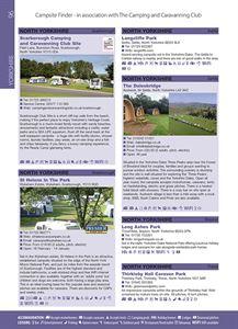 Campsite Finder Listings
