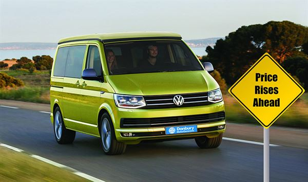 Price Rises Are Due On 1 December From VW