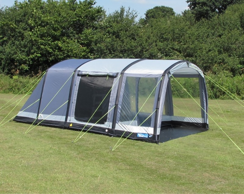 Kampa 4 man Hayling Island tent and vestibule Blue 4 person tentnearly new