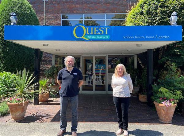 Penny Whitelock CEO of Miriad and Quest Director Adam Hughes