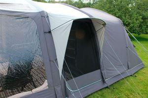 The rain canopy in the Outdoor Revolution Kalahari tent