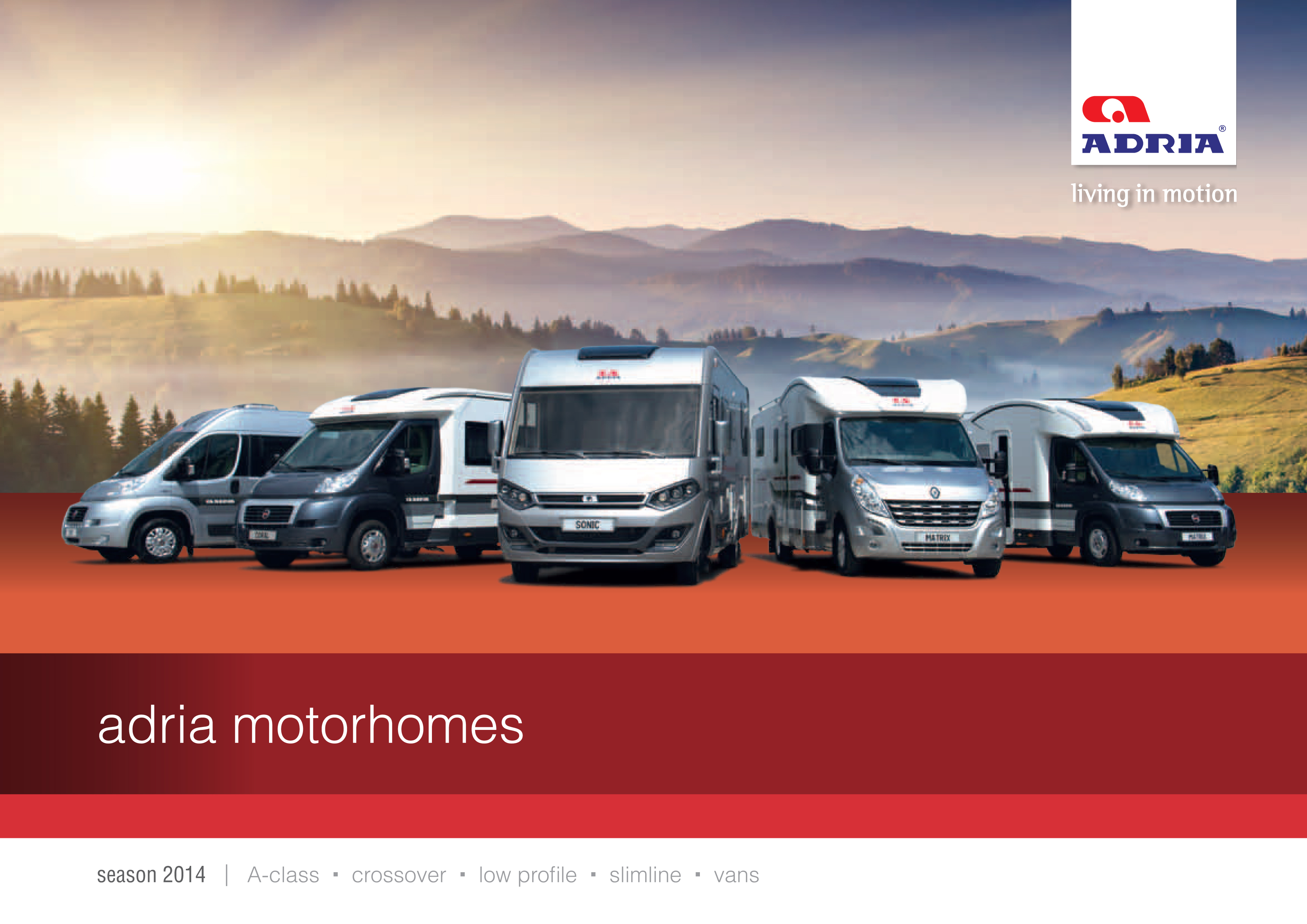 Adria Motorhomes Manufacturers New Amp Used Motorhome