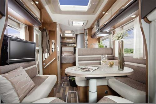French Bed Motorhome Layouts