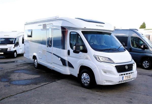 9aadfdf3ba Hobby Optima T70 GE - motorhome review - Reviews - Motorhomes ...
