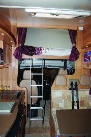 Drop-down Bed Motorhome Layouts - Buyers Guide - Motorhomes