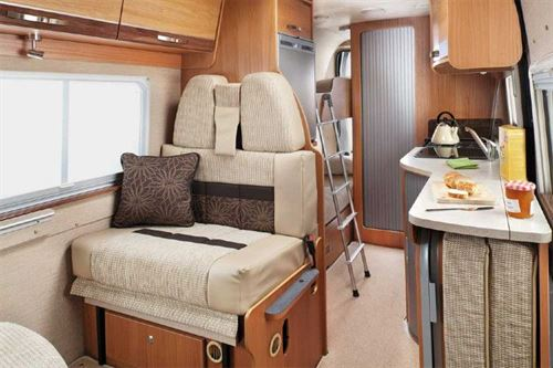 Bunk Bed Motorhome Layouts