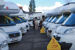 Sell your motorhome by sale or return with a dealer (Photo courtesy of Warners Group Publications)