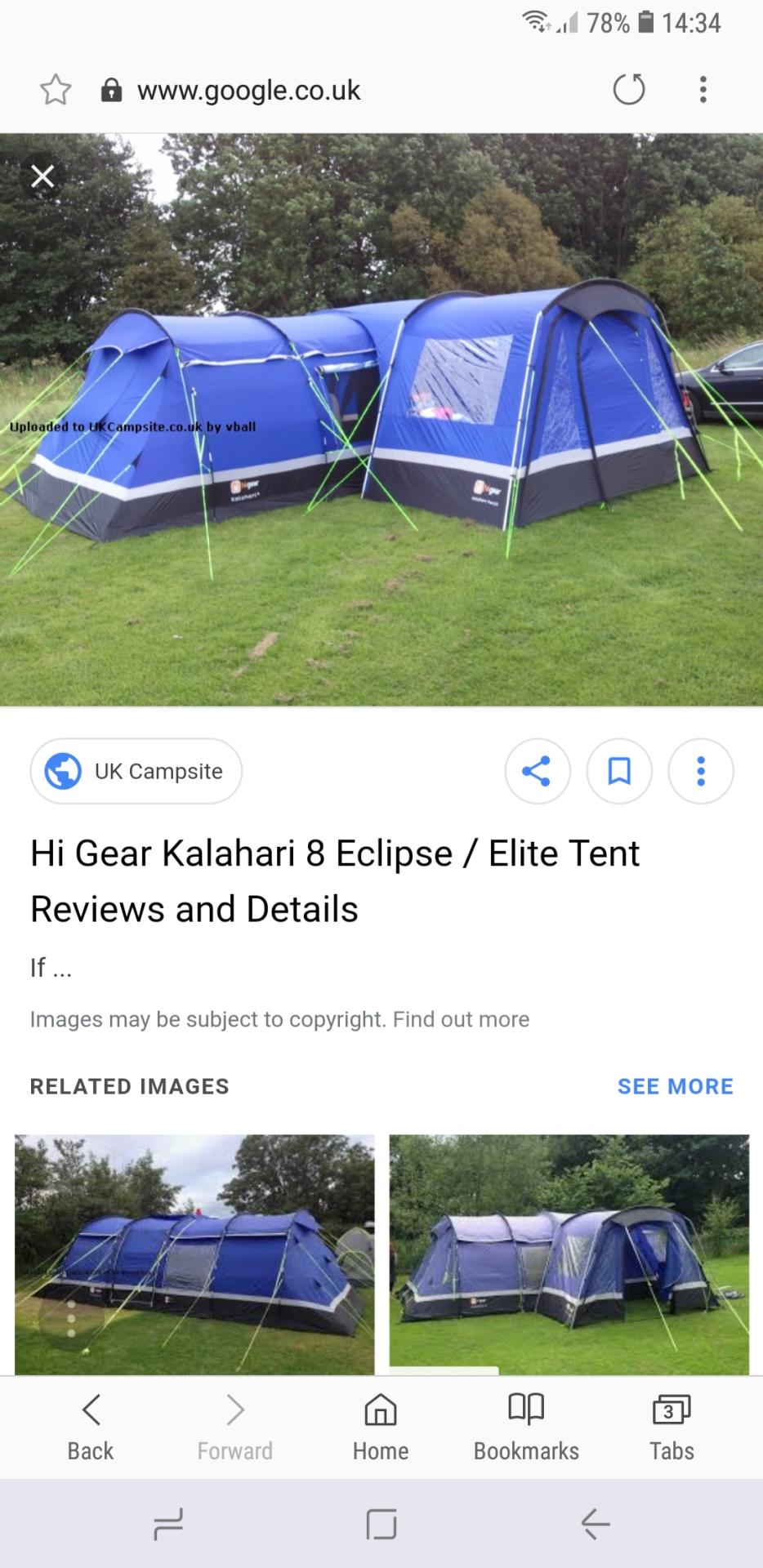 Hi Gear Kalahari 8