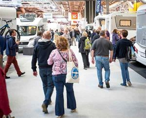The NEC motorhome show in October is a great place to see lots of new models in one place