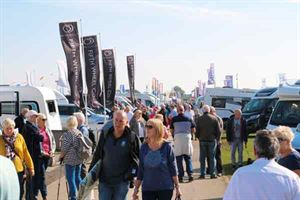Outdoor motorhome shows take place throughout the year