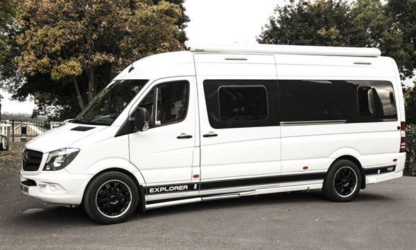 Rp motorhomes launches new mercedes based explorer for Mercedes benz view rv