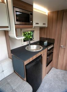Sprite Super Quattro EB kitchen