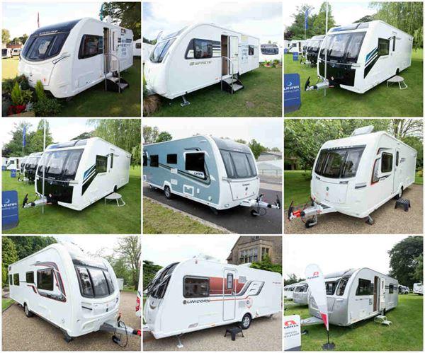 Transverse Island Bed Caravans