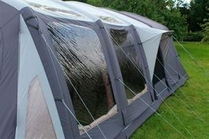 Tinted windows in the Outdoor Revolution Kalahari tent