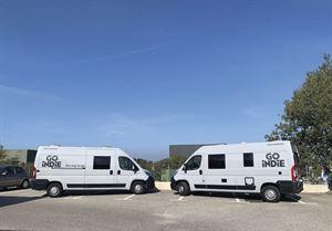 Hiring a campervan in France