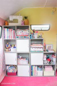 Cassie gets creative with DIY storage