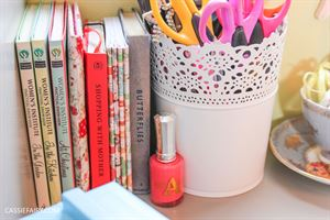 Cassie gets creative with DIY storage
