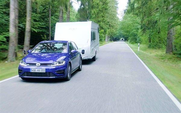 VW makes the Golf a surprisingly versatile towcar